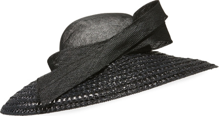 Marzi Large Brim Weave Hat