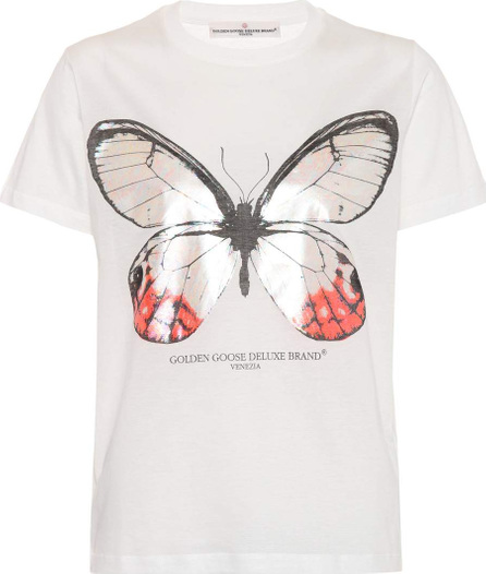 Golden Goose Deluxe Brand Printed cotton T-shirt