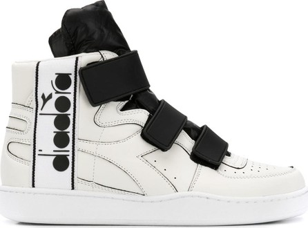 Diadora Basket tape hi-top sneakers