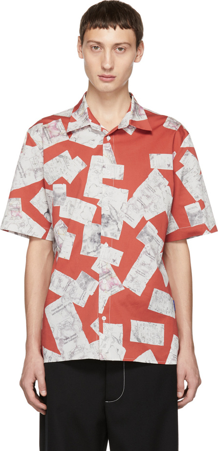 Anton Belinskiy Red Receipts Shirt