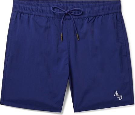 Aimé Leon Dore Slim-Fit Logo-Embroidered Nylon Drawstring Shorts