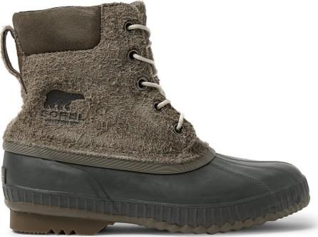 Sorel Cheyanne II Waterproof Textured-Suede and Rubber Boots