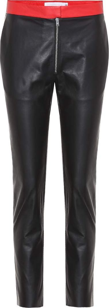 Victoria Beckham Leather trousers