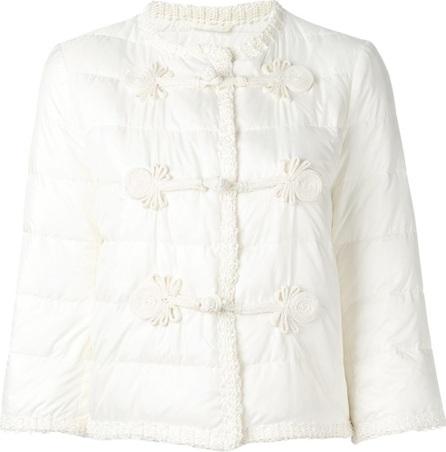 Ermanno Scervino duffle detailing cropped jacket