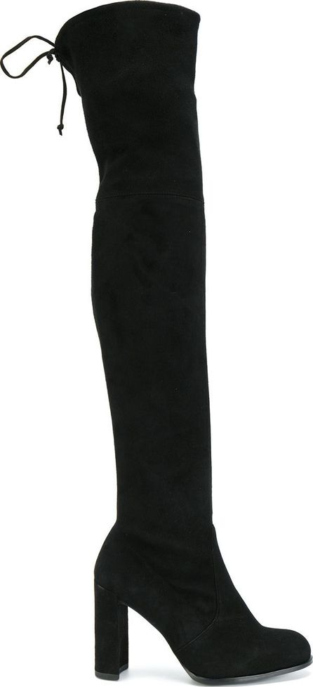 Stuart Weitzman lace-up over the knee boots