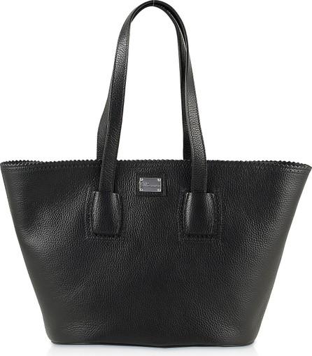 Blumarine Black Tote Bag w/Logo