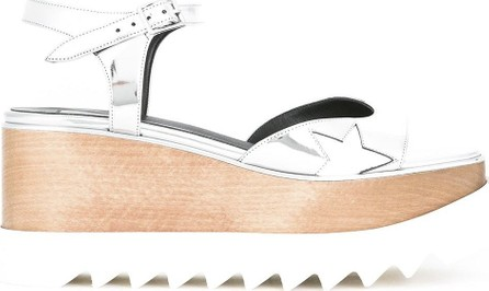 Stella McCartney cutout wedge sandals