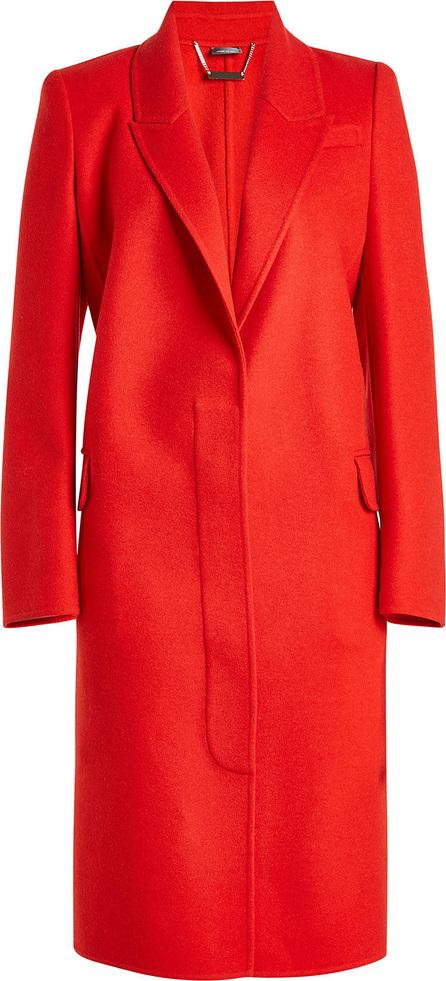 Alexander McQueen Virgin Wool Coat with Cashmere