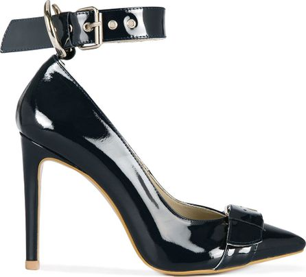 Nina Zarqua ankle strap pointed pumps