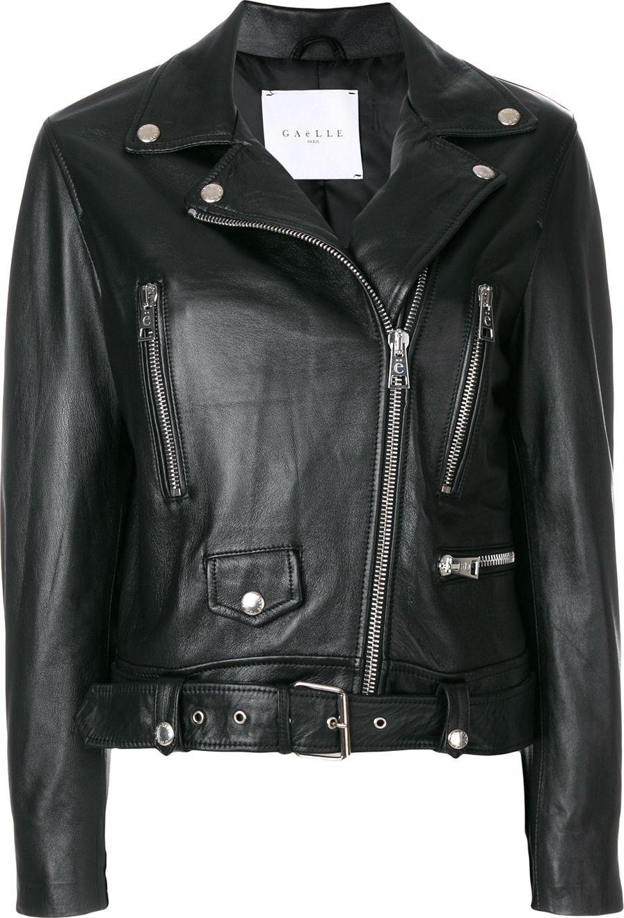 Gaelle Bonheur - cropped bike jacket