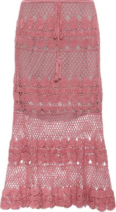 Anna Kosturova Marianne crocheted cotton skirt
