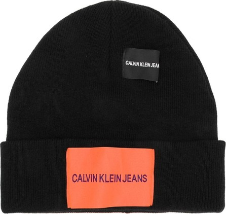 Calvin Klein Jeans Fitted knitted hat