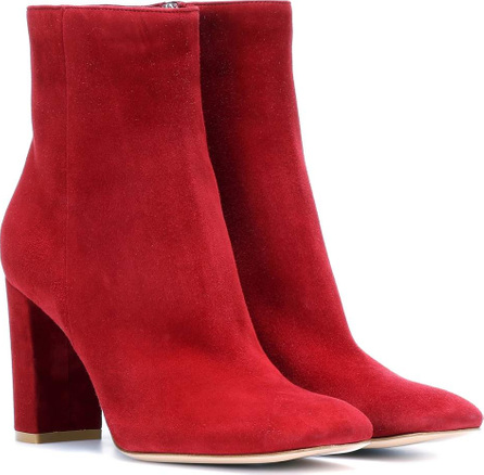 Gianvito Rossi Trish suede ankle boots