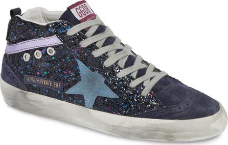 Golden Goose Deluxe Brand Mid Star Glitter Sneaker