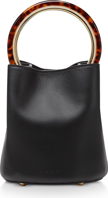 Marni Calfskin Pannier Bag W/ Design Handle