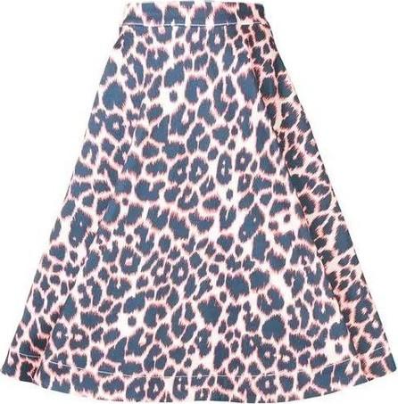 Calvin Klein Collection leopard print full skirt