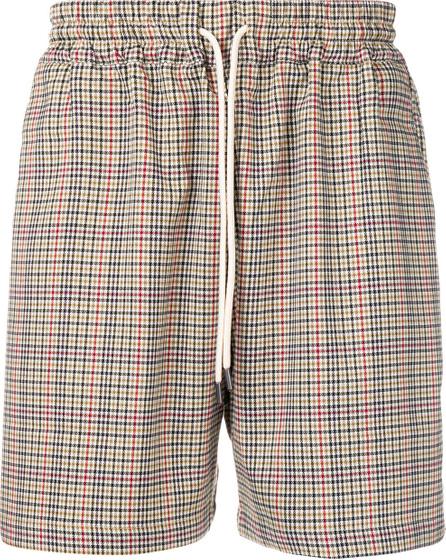Drôle De Monsieur Houndstooth shorts