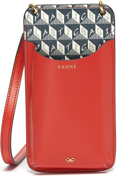 Anya Hindmarch I Am A Plastic Bag phone pouch