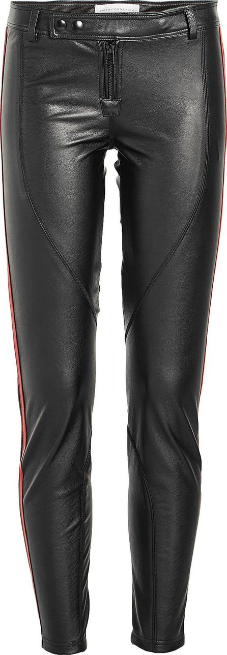 Faith Connexion Leggings with Leather Trims