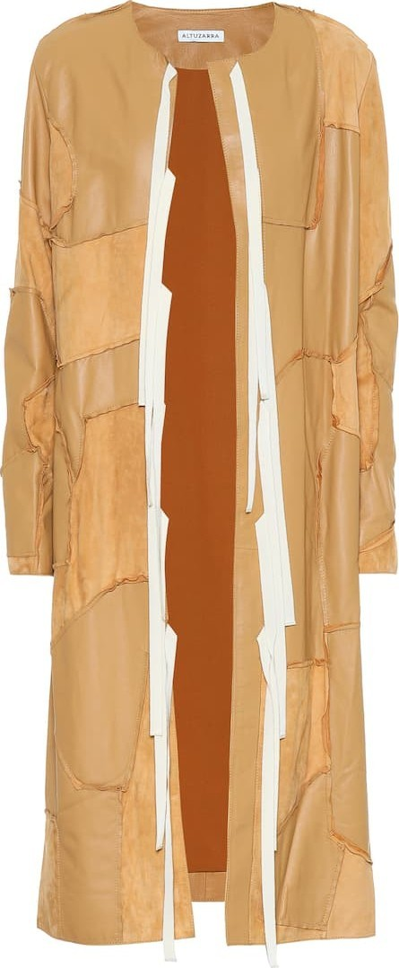 Altuzarra Benvenuto leather coat