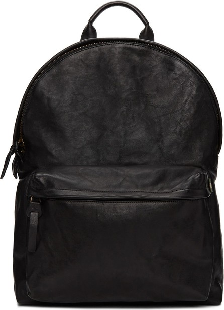 Officine Creative Black OC Backpack