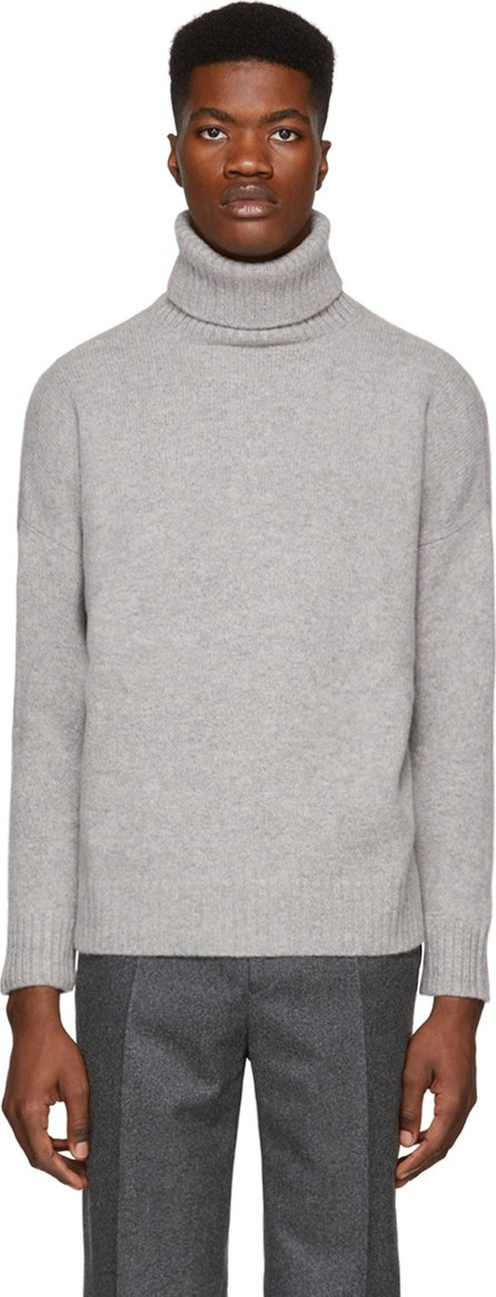 Harmony Grey Windy Turtleneck