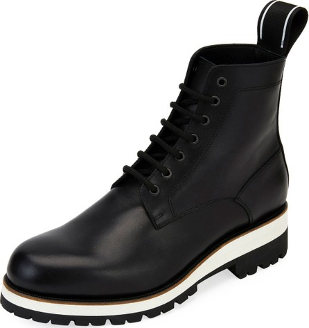 DSQUARED2 Men's Leather Lace-Up Ankle Boot