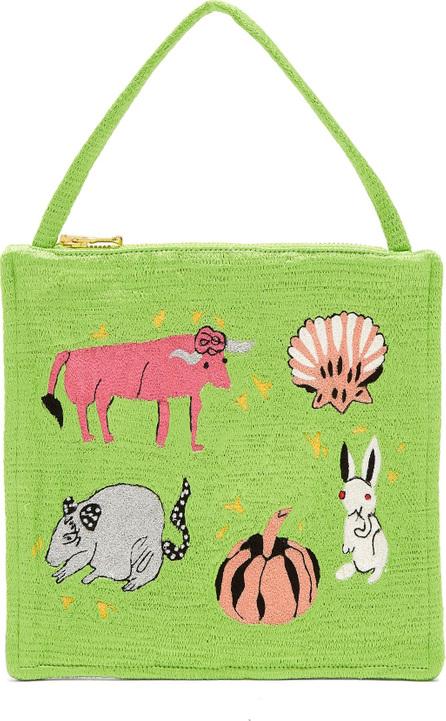 Shrimps Serafina embroidered bag