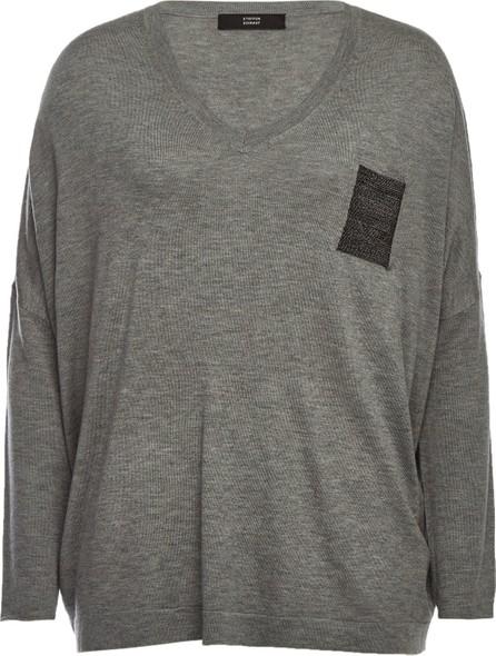 Steffen Schraut Embellished Pullover with Cashmere