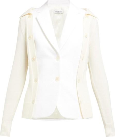 Altuzarra Ravello layered cotton-blend blazer