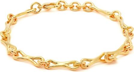 Joelle Kharrat Linked gold-plated ankle bracelet