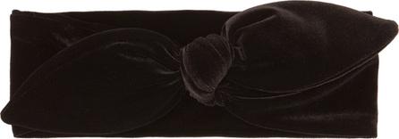 House of Lafayette Velvet bow headband