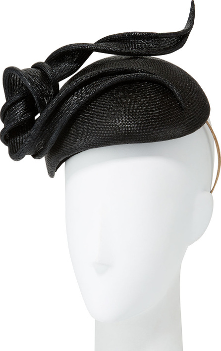 Philip Treacy Straw Hat w/ Ribbon