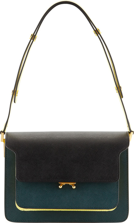 Marni Colorblock Trunk Shoulder Bag