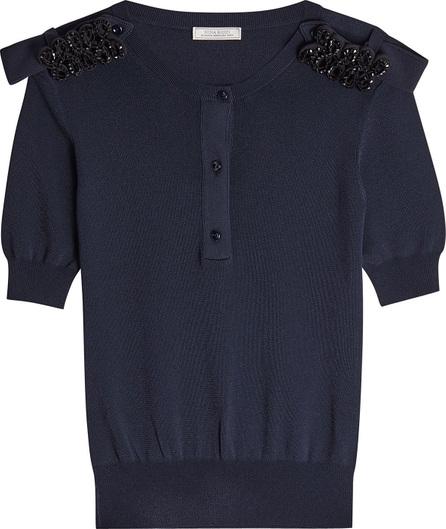 Nina Ricci Embellished Knit Pullover