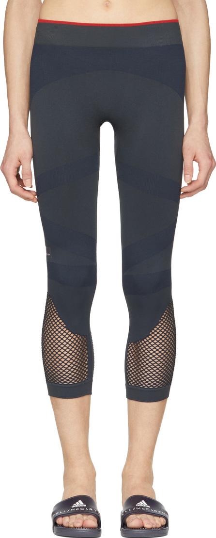 Adidas By Stella McCartney Navy Train SL 3/4 Tights