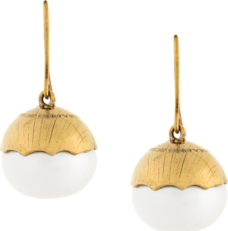 Ermanno Scervino contrast earring