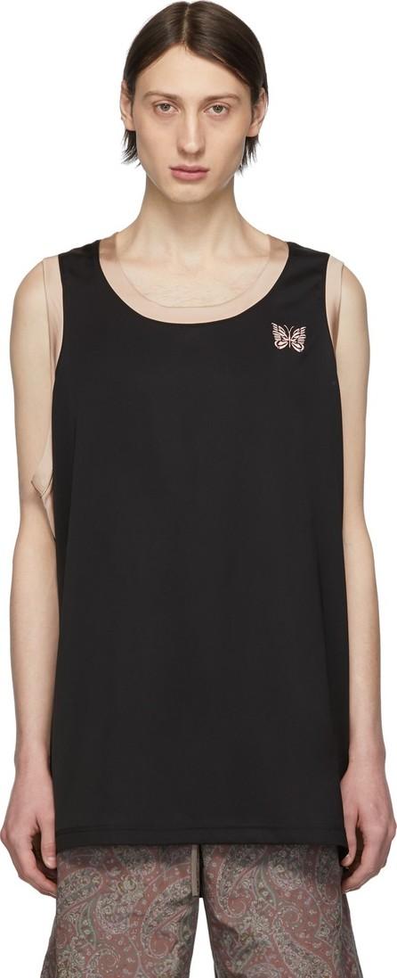 Needles Black & Beige Papillon Tank Top