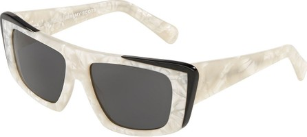 Alain Mikli Rectangle Acetate Sunglasses