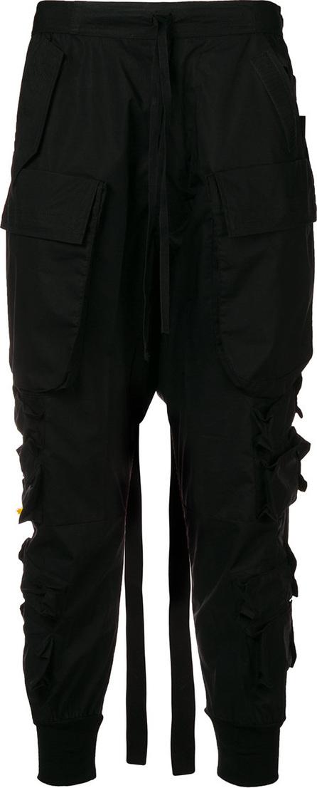 Ben Taverniti Unravel Project Cargo pocket drop-crotch trousers