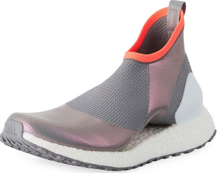 Adidas By Stella McCartney Ultra Boost X Fabric Sneakers, Gray/White
