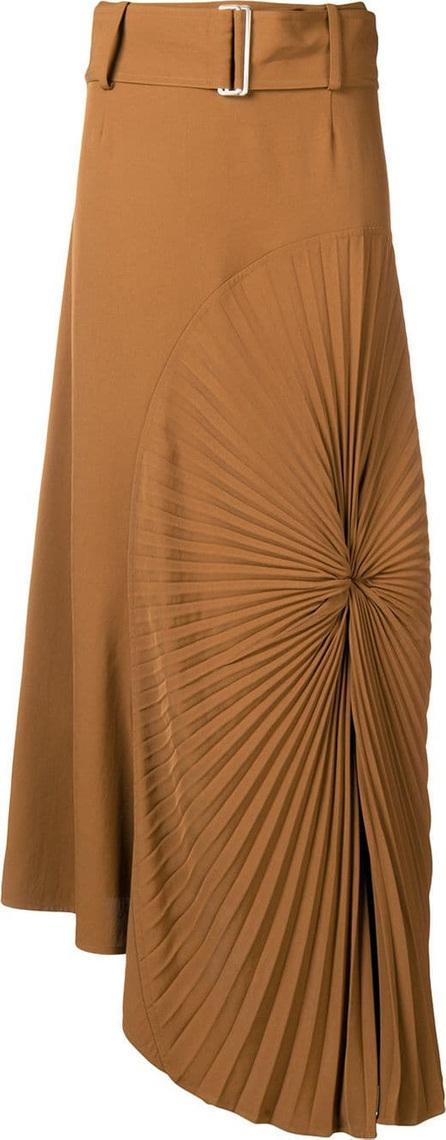 Victoria Beckham Pleated circle skirt