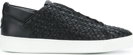 Alexander Smith Woven lace-up sneakers