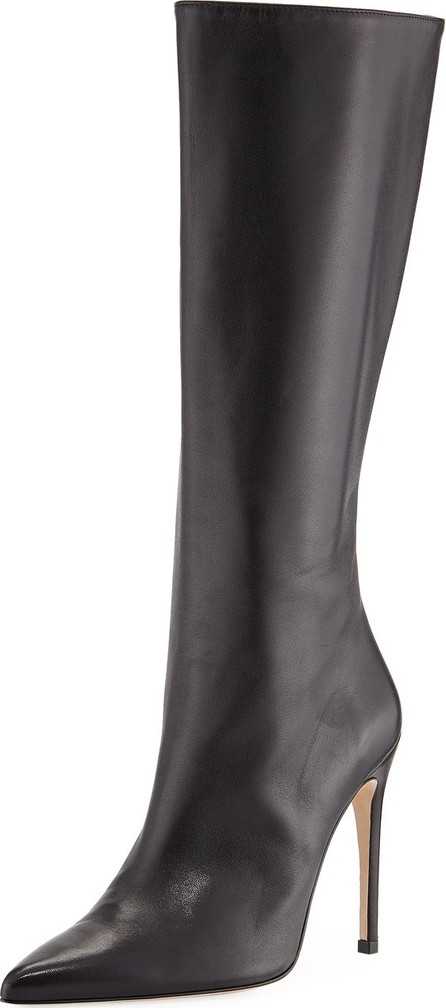 Alexandre Birman Porto Leather Stiletto Knee Boots