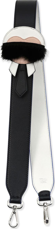 Fendi Karlito Strap for Handbag, Black