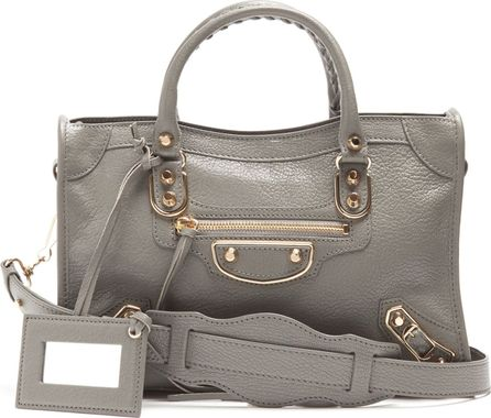 Balenciaga Metallic Edge City S bag
