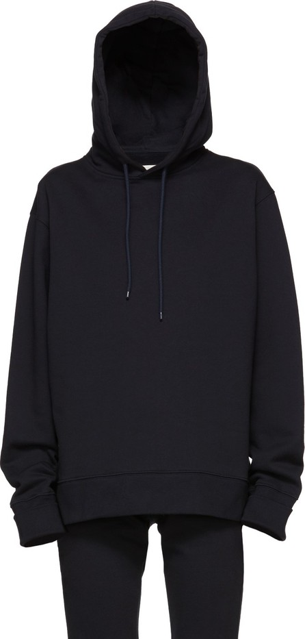 A_Plan_Application Navy Oversized Hoodie