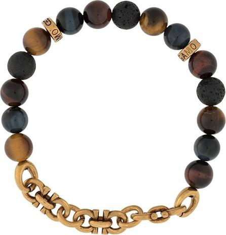 Salvatore Ferragamo Gancini bead-embellished bracelet