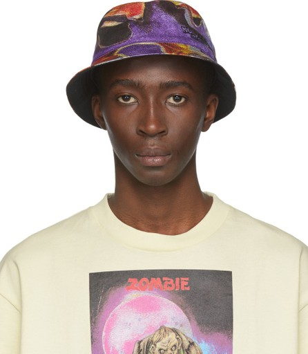 Acne Studios Multicolor Monster in My Pocket Edition Bucket Hat
