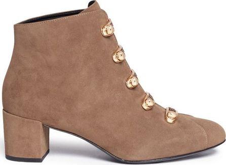 Stella Luna 'Stella' turnlock bar suede ankle boots